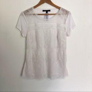 BCBG | lace t-shirt